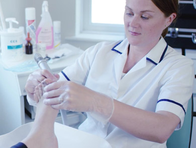 Podiatrist at The Foot and Nail Surgery